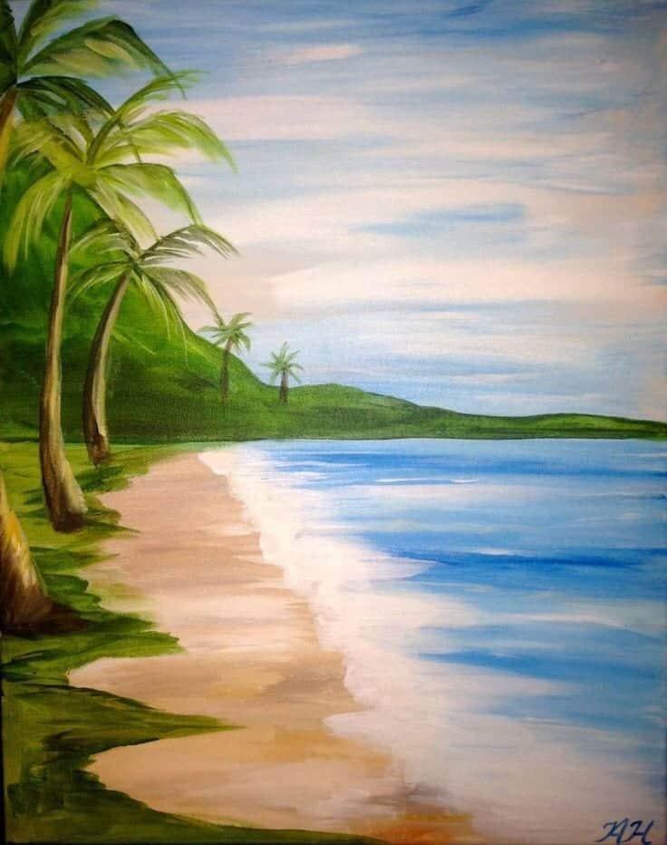 acrylic painting ideas painting idea
