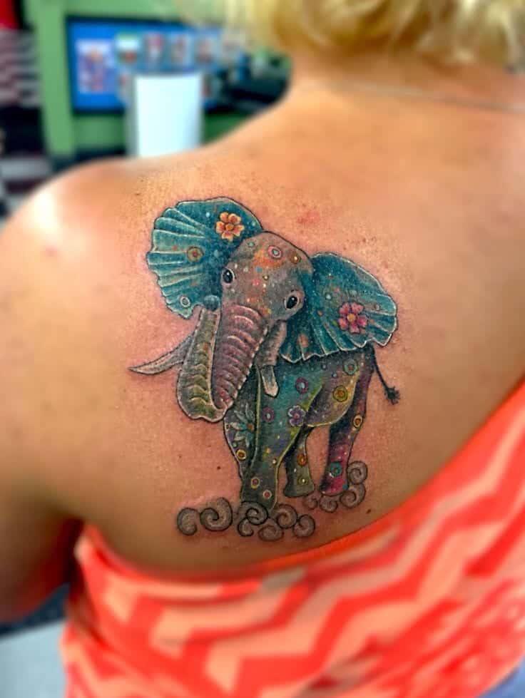 75 Big And Small Elephant Tattoo Ideas Brighter Craft