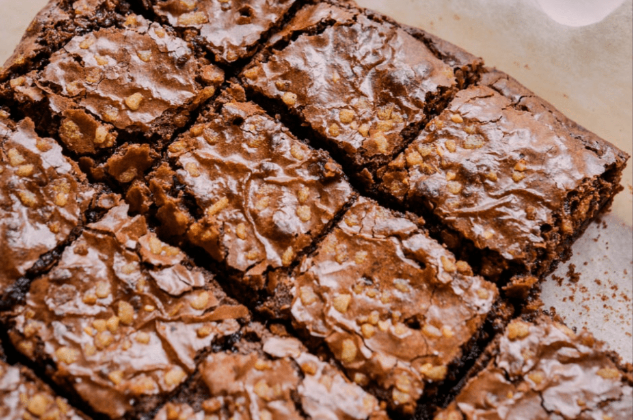 Multiple homemade brownies