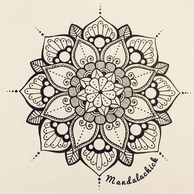 40 Beautiful Mandala Drawing Ideas How To Brighter Craft