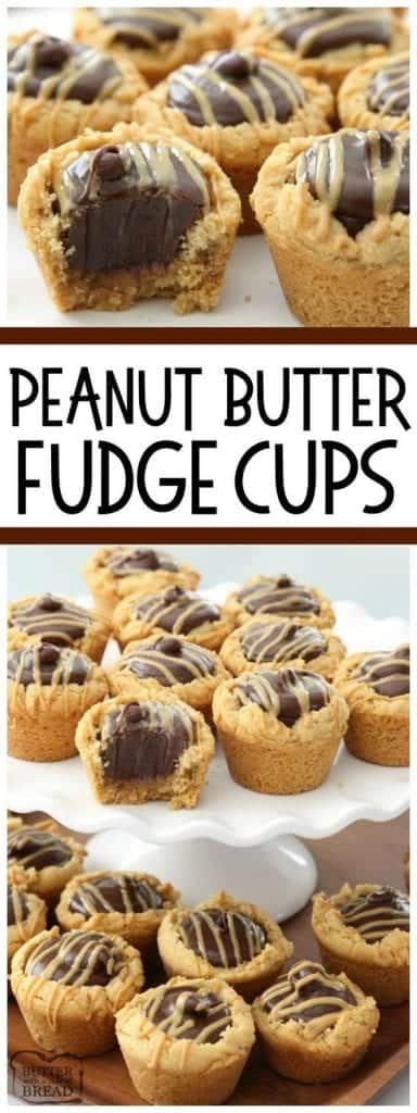 Peanut Butter Fudge Cups