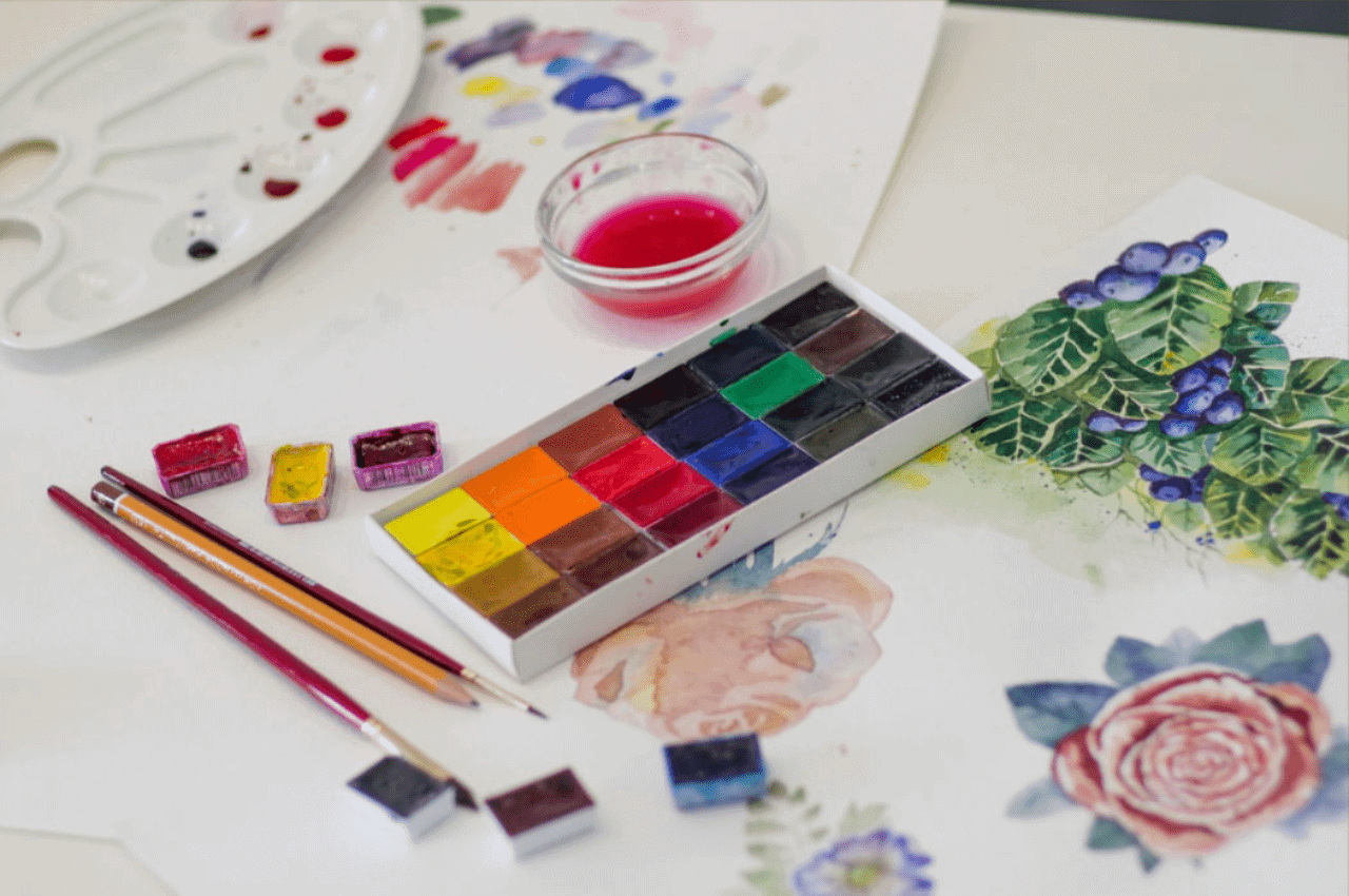 25 Beautiful Watercolor Flower Painting Ideas Inspiration Brighter Craft