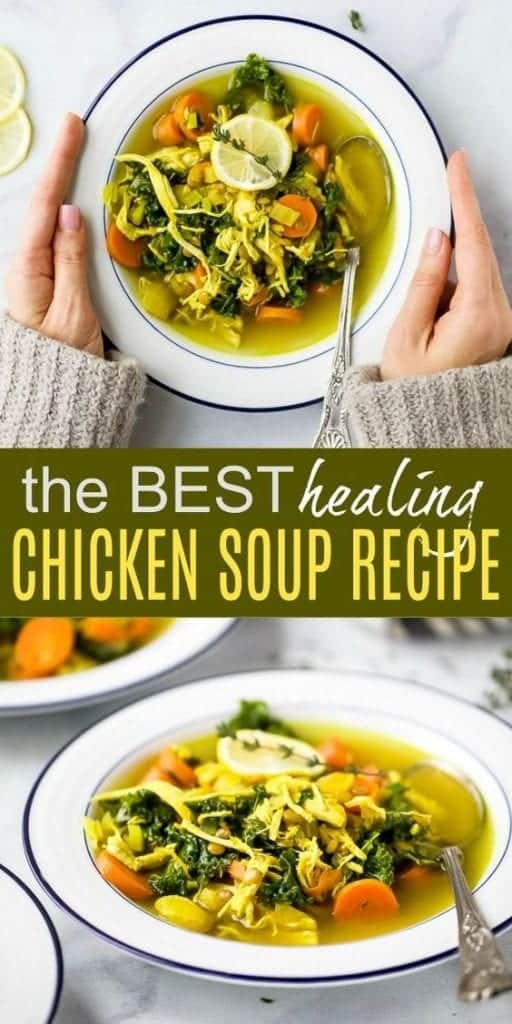 Healing Homemade Chicken Soup