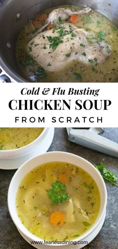 Grandma's Homemade Chicken Soup