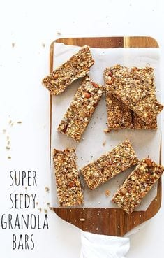 Super Seedy Granola Bars