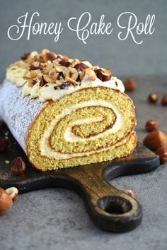 Honey Cake Roll
