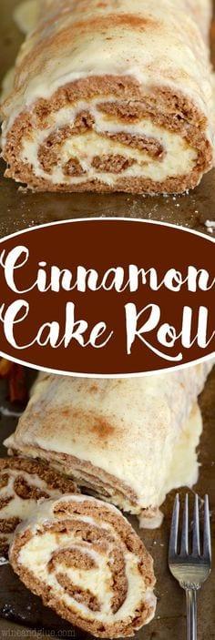 Cinnamon Cake Roll