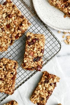 Healthy Chocolate Chip Granola Bars