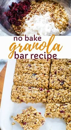The Best Healthy Granola Bar