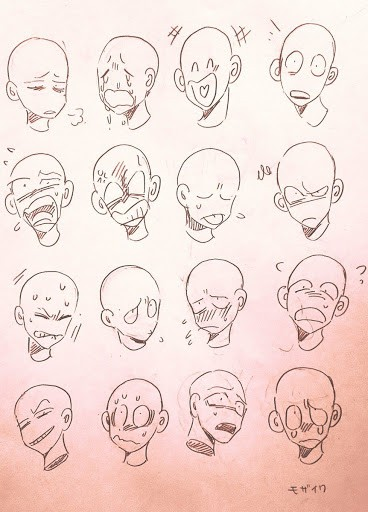 10 Cartoon Drawing Facial Expression Ideas Brighter Craft