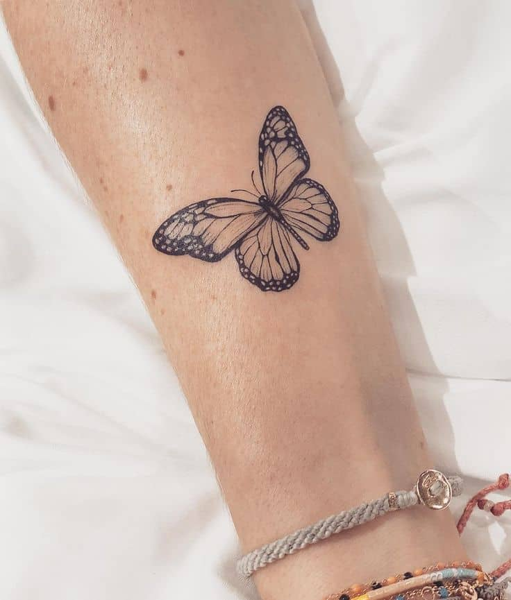 simple butterfly tattoos butterfly tattoos wings