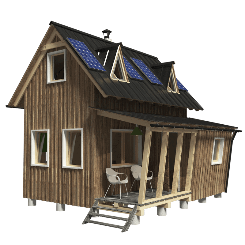 6 Best Two Story Tiny House Plans Brighter Craft