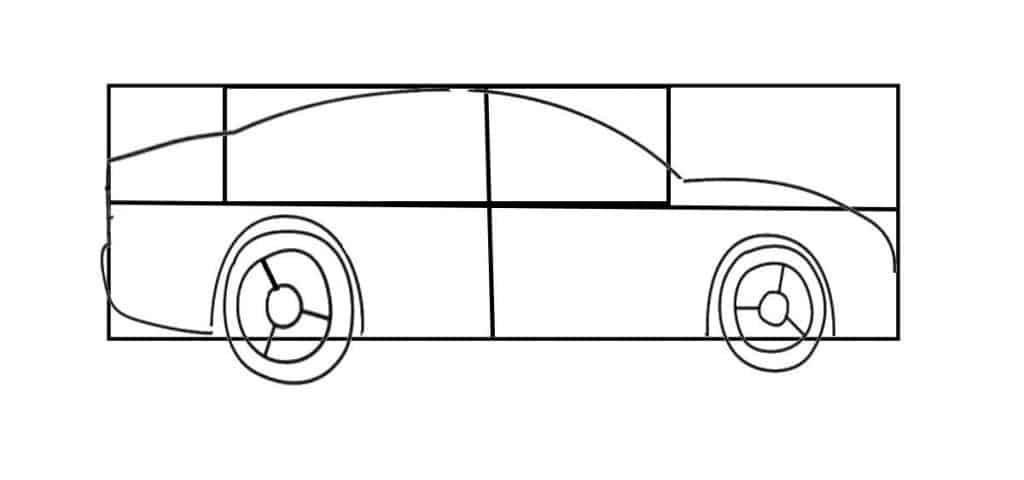 car drawing framework