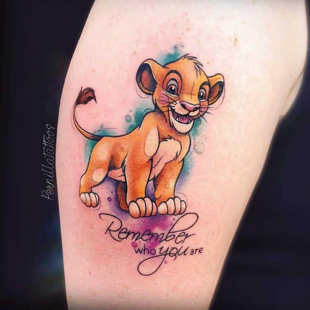 pernillatattoos instagram Disney Tattoos