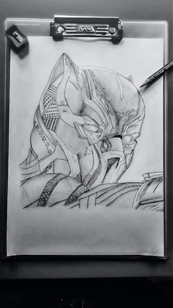 Drawings For Tattoos Need Sharp Accurate Pencil Lines
