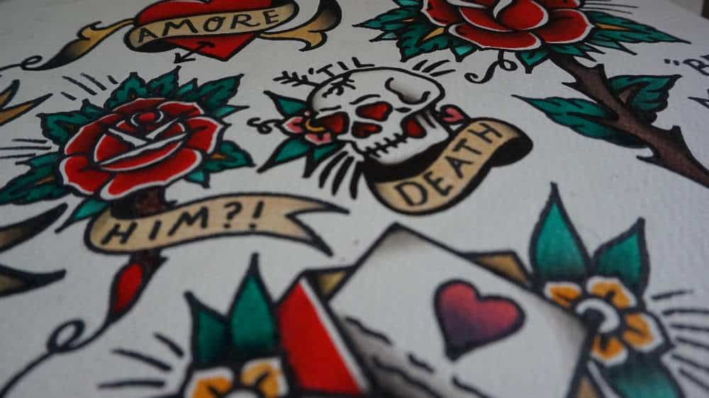 Some Traditional Tattoo Flash Images