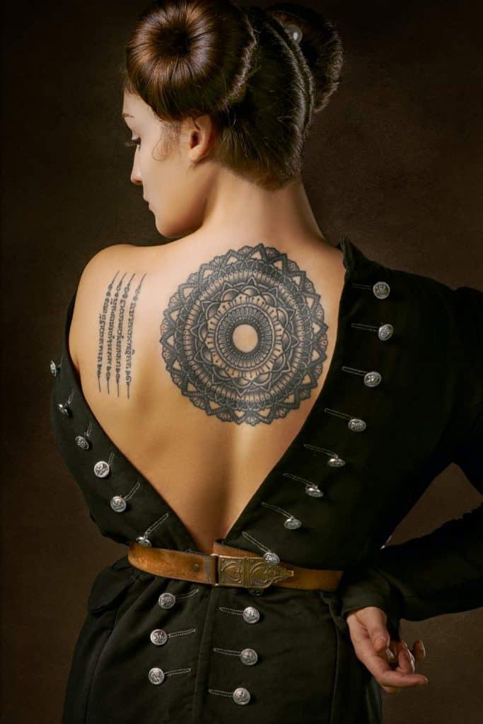 A Beautiful Mandala Tattoo