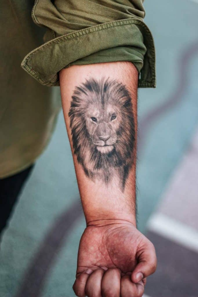 Lions Can Make Great Tattoos