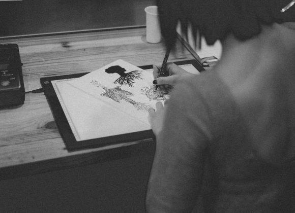 Drawing A Tattoo